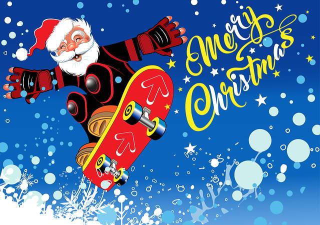 Twelve Days of Door Stripping Christmas image.