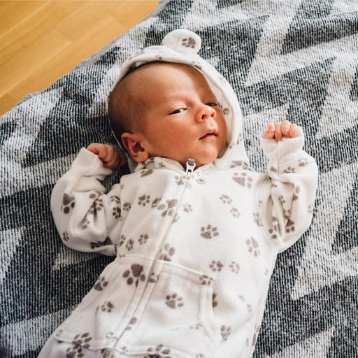 Newborn baby image for Furniture Stripping for Mental Health? post. Image by Iryna Inshyna (via Shutterstock).