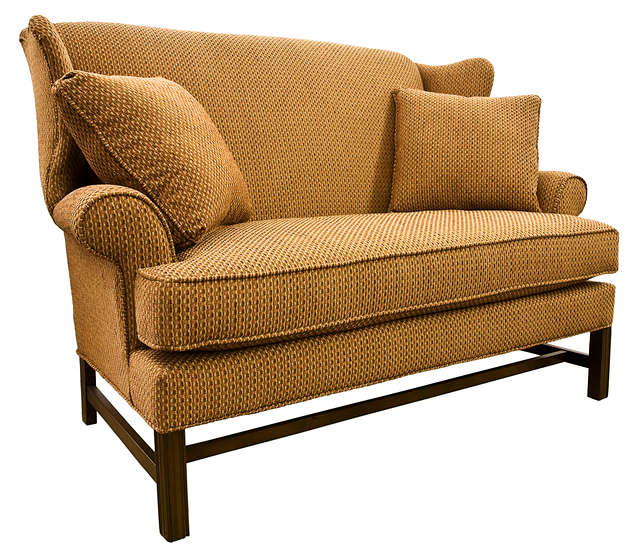 Chippendale Settee Loveseat (Stripping blog post image by James Marvin Phelps)