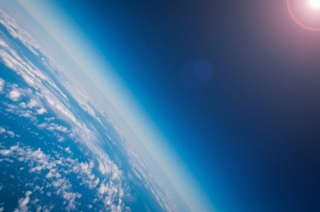 Dichloromethane and the Ozone Layer image by PunyaFamily (via Shutterstock).