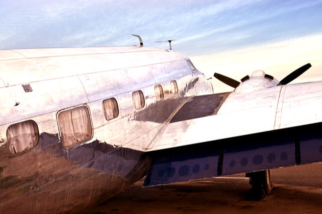 Even Douglas DC3s can benefit from lasers, whilst having a change of coat. Image by Straight 8 Photography (via Shutterstock).