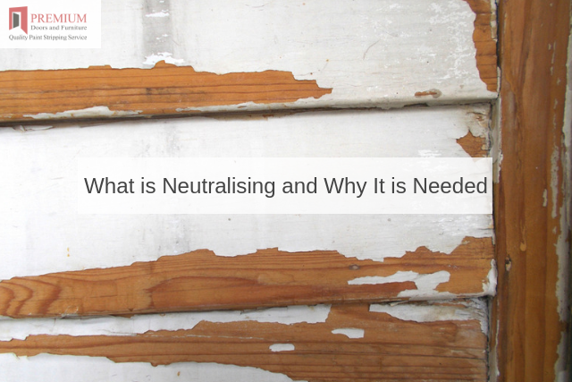 What is Neutralising and Why It is Needed