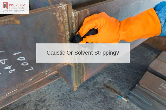 Caustic Or Solvent Stripping_