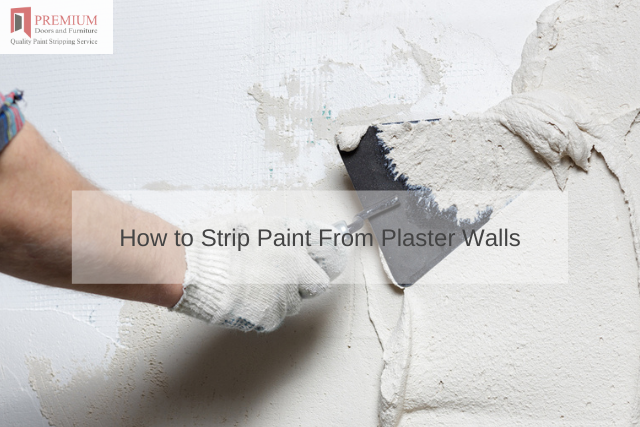 How to Strip Paint From Plaster Walls